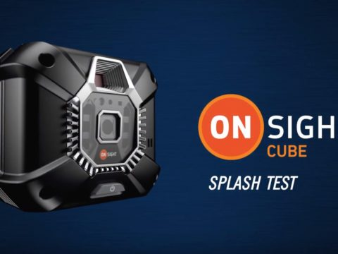 Onsight Cube Splash Test